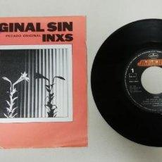 """Discos de vinil: 1220- ORIGINAL SIN INXS - VIN 7"""" POR VG+ DIS NM. Lote 228472395"""