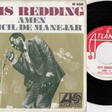 Discos de vinilo: OTIS REDDING - AMEN / HARD TO HANDLE - SINGLE ESPAÑOL DE VINILO. Lote 228472510