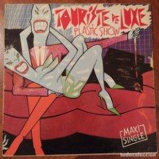 "Discos de vinilo: TOURISTE DE LUXE - PLASTIC SHOW (12"", MAXI) (DRO) DRO-023. Lote 228478480"