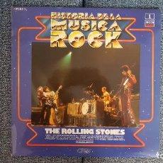 Discos de vinilo: THE ROLLING STONES - HISTORIA DE LA MUSICA ROCK VOL. 1. EDITADO POR DECCA - AÑOS 1.962/63/64.. Lote 228478865