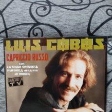 Discos de vinilo: LUIS COBOS - CAPRICCIO RUSO. Lote 228486985