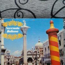 Discos de vinilo: SERENATA ITALIANA. Lote 228491020