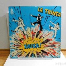 Discos de vinil: DISCO VINILO LP. LA TRINCA - XAUXA!. EDICIÓN ESPAÑOLA. 33 RPM.. Lote 228497200
