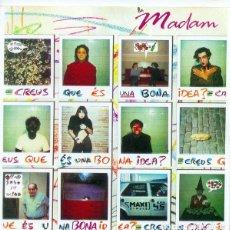 Discos de vinilo: LA MADAM. CREUS QUE ES UNA BONA IDEA - MAXI SPAIN 1988 + HOJA INFORMATIVA. Lote 228498280