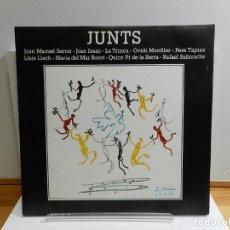 Discos de vinilo: DISCO VINILO LP. VARIOS - JUNTS. EDICIÓN ESPAÑOLA. 33 RPM.. Lote 228500065