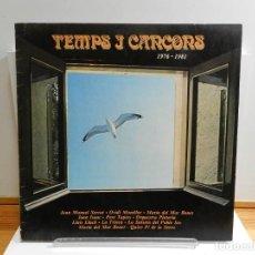 Discos de vinilo: DISCO VINILO LP. VARIOS - TEMPS I CANÇONS. EDICIÓN ESPAÑOLA. 33 RPM.. Lote 228500450