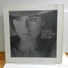 Discos de vinilo: DISCO VINILO LP. MARIA DEL MAR BONET - MARIA DEL MAR BONET. EDICIÓN ESPAÑOLA. 33 RPM.. Lote 228500630