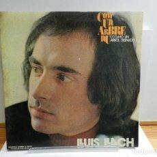 Discos de vinilo: DISCO VINILO LP. LLUÍS LLACH - COM UN ARBRE NU. EDICIÓN ESPAÑOLA. 33 RPM.. Lote 228501230