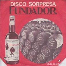 Discos de vinilo: FUNDADOR 10.166 - CUENTOS INFANTILES: PINOCHO + PULGARCITO - SINGLE 1969. Lote 228502070