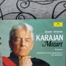 Discos de vinilo: KARAJAN MOZART ORQUESTA FILARMÓNICA BERLÍN. Lote 228503075