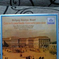 Discos de vinilo: MOZART CONCIERTOS PARA FLAUTA. Lote 228503440