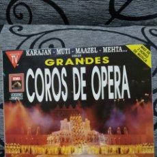 Discos de vinilo: GRANDES COROS DE ÓPERA. Lote 228503930