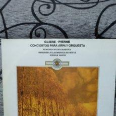 Discos de vinilo: CLIENTE PIERNA CONCIERTOS PARA ARPA. Lote 228504965