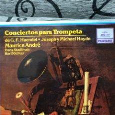 Discos de vinilo: CONCIERTOS PARA TROMPETA. Lote 228507235