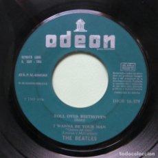 Discos de vinilo: THE BEATLES - LABEL VERDE MUY RARO (EP ROLL OVER BEETHOVEN DSOE 16.579) (EDICIÓN ESPAÑOLA) VER FOTOS. Lote 246279950