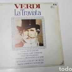 Discos de vinilo: VERDI: LA TRAVIATA.. Lote 228522425