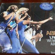 Discos de vinilo: ABBA - LIVE AT WEMBLEY ARENA - 3.LPS - NUEVO - ENVIO GRATIS. Lote 228523100