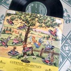 """Discos de vinil: L.P. (VINILO) 10 """" DE CUENTOS INFANTILES AÑOS 50. Lote 228540390"""
