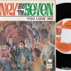 Discos de vinilo: HENRY AND THE SEVEN - COME / YOU OVE ME - SINGLE DE VINILO - FUNK SOUL. Lote 228553235