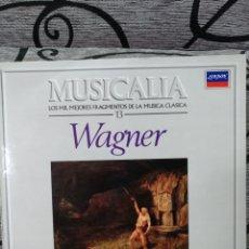 Discos de vinilo: MUSICALIA WAGNER. Lote 228560845