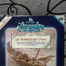 Discos de vinilo: LA TEMPESTAD PARTE 2. Lote 228561580