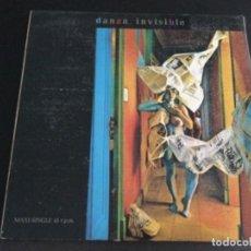Discos de vinilo: DANZA INVISIBLE -TIEMPO DE AMOR / ARCO IRIS. Lote 228562115