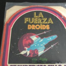 Discos de vinilo: THE DROIDS- LA FUERZA. Lote 228562610