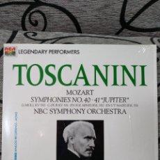 Discos de vinilo: TOSCANINI MOZART SINFONÍA 40 41. Lote 228565660