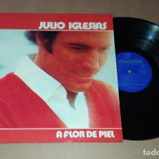 Discos de vinilo: LP JULIO IGLESIAS - A FLOR DE PIEL. Lote 228567340