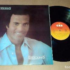 Discos de vinilo: LP JULIO IGLESIAS - EMOCIONES. Lote 228567563