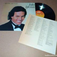 Discos de vinilo: LP JULIO IGLESIAS - 1100 BEL AIR PLACE. Lote 228568265