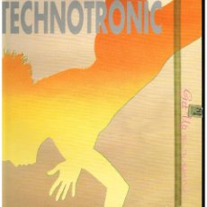 Discos de vinilo: TECHNOTRONIC - GET UP / COME ON - MAXI SINGLE 1989. Lote 228569905
