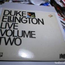 Discos de vinilo: LP DUKE ELLINGTON LIVE VOLUME TWO. AFFINITY 1980 SPAIN (PROBADO, BIEN, SEMINUEVO). Lote 228581630
