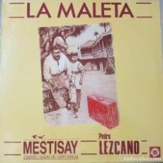 Discos de vinilo: MAXI - MESTISAY - POETA PEDRO LEZCANO - LA MALETA - CENTRO DE LA CULTURA POPULAR CANARIA. Lote 228583035