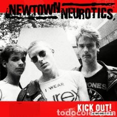 Discos de vinilo: NEWTOWN NEUROTICS ‎– KICK OUT . LP VINILO NUEVO.. Lote 228583105