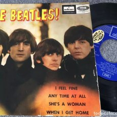 Discos de vinilo: THE BEATLES EP I FEEL FINE +3 EMI ODEON. Lote 228590110