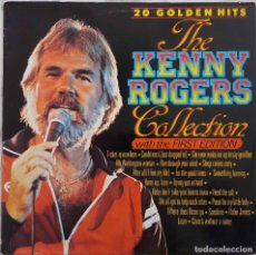 Discos de vinilo: KENNY ROGERS WITH THE FIRST EDITION. 20 GOLGEN HITS. LP HOLANDA. Lote 228590840