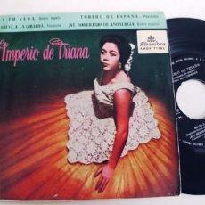 Discos de vinilo: IMPERIO DE TRIANA-EP A TU VERA +3. Lote 228596163