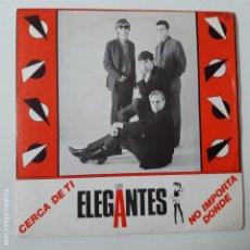 Dischi in vinile: LOS ELEGANTES- CERCA DE TI - SINGLE PROMO 1985 - EXC. ESTADO.. Lote 228598840