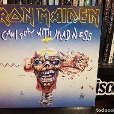 Discos de vinil: IRON MAIDEN - CAN I PLAY WITH MADNESS. Lote 228607695