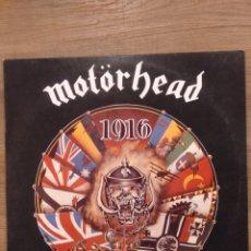 """Discos de vinilo: MOTORHEAD """"1916"""". EDICIÓN ORIGINAL ESPAÑOLA 1991. DIFÍCIL DE ENCONTRAR.. Lote 228620865"""