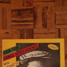"Discos de vinilo: WANK'S – FAYA FAYA DANCE AFROCADENCE SELLO: NEW PICTURES – 11049 FORMATO: VINYL, 12"", MINI-ALBUM. Lote 228626510"