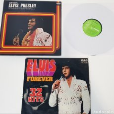 Discos de vinilo: LOTE 2 LP - ELVIS PRESLEY - PURE GOLD ELVIS PRESLEY - ELVIS FOREVER 32 HITS. Lote 228628070