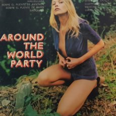 Discos de vinilo: AROUND THE WORLD PARTY - LP - HOLLI HEPP AND THE HAPPY SOUND. Lote 228628975