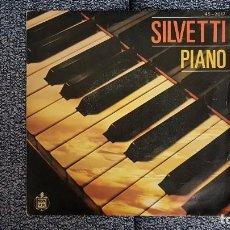 Discos de vinilo: BEBU SILVETI - PIANO / LOVE IS ON TONIGHT. EDITADO POR HISPAVOX. AÑO 1.980. Lote 228636485