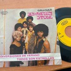 Discos de vinilo: SLY & FAMILY STONE (GRACIAS) EP EC-5503 MEXICO (EPI20). Lote 228639160