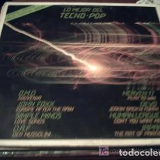 Discos de vinilo: 1982 LO MEJOR DEL TECNO POP / VIRGIN / OMD SIMPLE MINDS FOXX DAF DEVO JAPAN HEAVEN 17 HUMAN LEAGUE. Lote 228640272