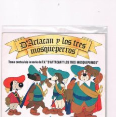 Discos de vinilo: DISCO VINILO SINGLE DARTACAN Y LOS TRES MOSQUEPERROS POPITOS UNO PARA TODOS Y TODOS PARA UNO 1982. Lote 228644515
