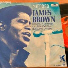 Discos de vinilo: JAMES BROWN (MIEDOSO) EP MEXICO (EPI20). Lote 228655925