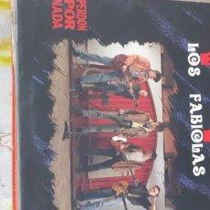 Discos de vinilo: LOS FABIOLAS PERDÓN POR NADA. Lote 228658490